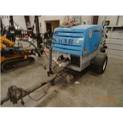 2005 Putzmeister TK-25 Dsl Concrete Pump Trailer, Shows 872 Hrs. S#140601206