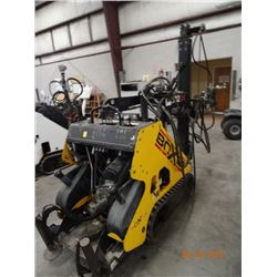 2008 Boxer 532 DX 32 HP Dsl Mini Track Skid Loader 5' Mast Drill Rig S#3045