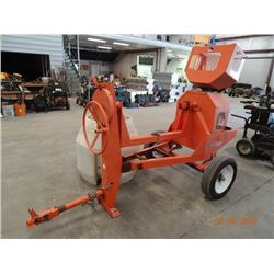 MQ Whiteman/Honda 8HP Trailer Concrete Mixer