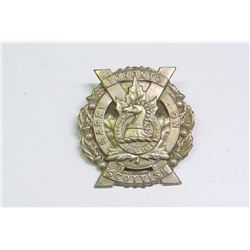 WWI, MILITARY BADGE, TORONTO SCOTTISH OFFICER'S GLENGARRY BADGE