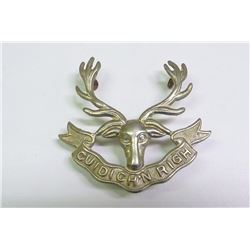 WWII, MILITARY  BADGE SEAFORTH HIGHLANDERS