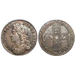 Great Britain (London, England), half crown, James II, 1685.