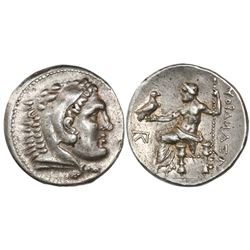 Kingdom of Macedon, AR tetradrachm, Alexander III ( the Great ), 336-323 BC, struck in the names of