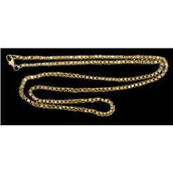 "1715 Fleet Gold ""olive blossom"" chain, 32.68 gr (with modern clasp)"