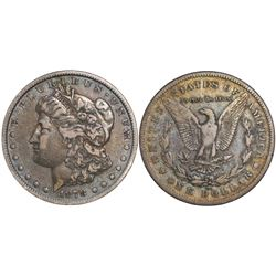 USA (Carson City mint), $1 Morgan, 1878-CC.