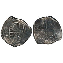 Mexico City, Mexico, cob 4 reales, Philip III, assayer D, ex-Mikalow.
