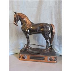 "Copper horse radio 15"" tall, radio does not working"