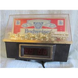 Budweiser digital clock (works)