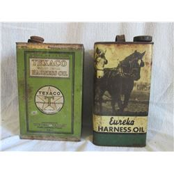 Texaco Harness Oil & Eureka Harness Oil