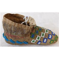 Single Plains Childs Moccasins
