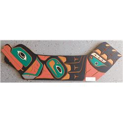 Northwest Coast Carved & Painted Plaque