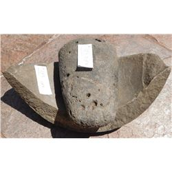 Chumash Pestle & Bowl Fragment