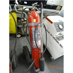 Ansul Wheeled C02 Fire Ext.