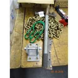 Chain, Connector Plates, Rings