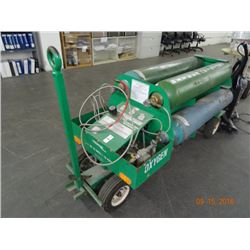 Tronair 20-4505-7000 Light Pressure Oxygen Gas Booster Cart (Leased Tanks)