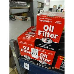Lot of Champion Oil Filters