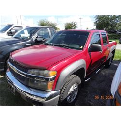2006 Chevy Colorado Z71 Crew Cab Pick UP