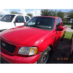 2002 Ford F-150 XLT 4-Dr. X-Cab Short Bed Pick Up