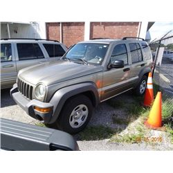 2003 Jeep Liberty Sport 5-Dr. SUV