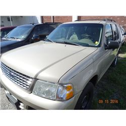 2004 Ford Explorer XLT 4x4 5-Dr. 7-Pass., SUV