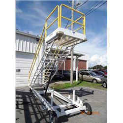 Clyde # 15F Hydraulic Platform Stair Lift