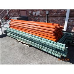7 - 12' H Pallet Rack Sections (8 Ups, 32 C/B) - 7 Times the Money