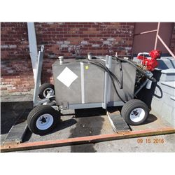 Fuel Tank Trailer w/Fill Rite Electric Pump