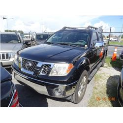 2009 Nissan Frontier Le Crew Cab Pick Up