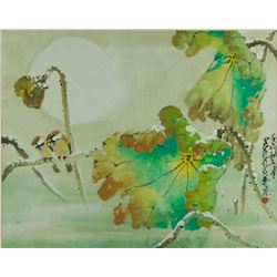 Watercolour on Paper w/ Frame Zhao Shaoang