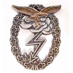 GERMAN NAZI LUFTWAFFE GROUND COMBAT BADGE