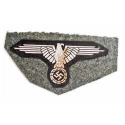 NAZI GERMAN WAFFEN SS ENLISTED MANS ARM EAGLE