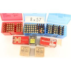 Lot of 8mm Ammo & Reloads