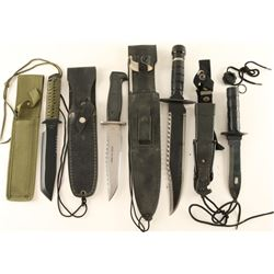Lot of 4 Tactical Type Knives