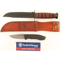 U.S.M.C. Ka-Bar Fighting Knife & More