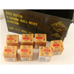 Lot of 7.62 x 39 mm Ammo