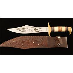 Chipaway Trail of Tears Bowie Knife