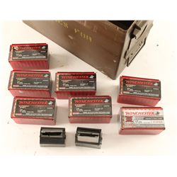 Lot of .17 HMR Ammo & More