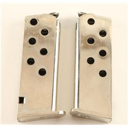 Lot of 2 Colt .25 ACP Mags