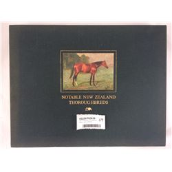 Book - Notable NZ Thoroughbreds - Alastair Taylor Publishers