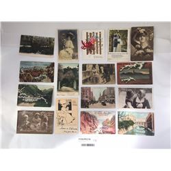Group of Antique Postcards Inc. Adelaide Australia