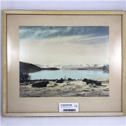Rare Whites Aviation Lake Tekapo Photo Picture 42cm x 50cm