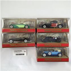 Group of Boxed Matchbox Vehicle's Inc. Mercedes Benz 540k