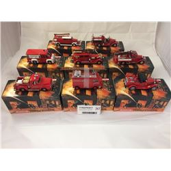 Group of Matchbox Fire Engine Series Models Inc. 1930 Ford
