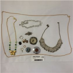 Group of Costume Jewellery Inc. Sterling Silver