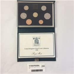 1985 United Kingdom Proof Coin Set