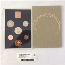 1976 Coinage of Gt. Britain & Ireland Proof Set