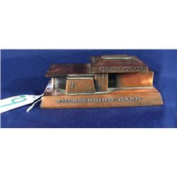 RARE VINTAGE THUNDERBIRD BANK OF ARIZONA METAL BANKING