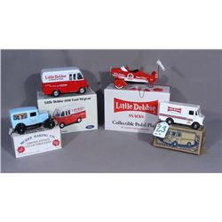 FOUR LITTLE DEBBIE MEMORABILIA