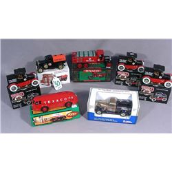 SEVEN GAS BRAND DIE CAST METAL TRUCK BANKS
