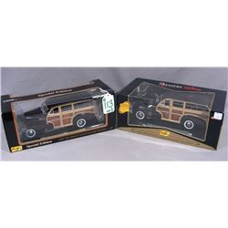 TWO MAISTO 1:18 SPECIAL EDITION CARS